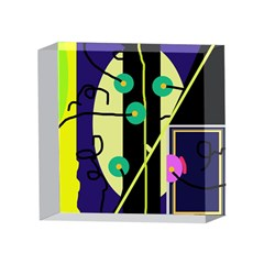 Crazy abstraction by Moma 4 x 4  Acrylic Photo Blocks