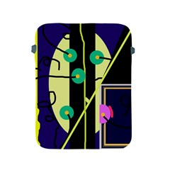 Crazy abstraction by Moma Apple iPad 2/3/4 Protective Soft Cases