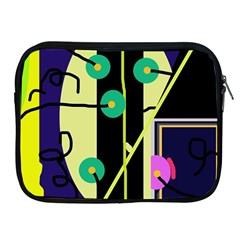 Crazy abstraction by Moma Apple iPad 2/3/4 Zipper Cases