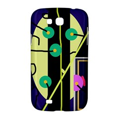 Crazy abstraction by Moma Samsung Galaxy Grand GT-I9128 Hardshell Case