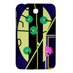Crazy abstraction by Moma Samsung Galaxy Tab 3 (7 ) P3200 Hardshell Case
