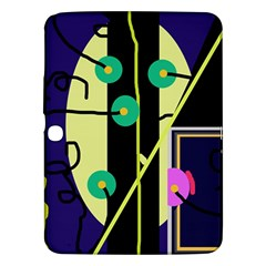 Crazy abstraction by Moma Samsung Galaxy Tab 3 (10.1 ) P5200 Hardshell Case