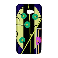 Crazy abstraction by Moma HTC Butterfly S/HTC 9060 Hardshell Case