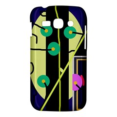 Crazy abstraction by Moma Samsung Galaxy Ace 3 S7272 Hardshell Case