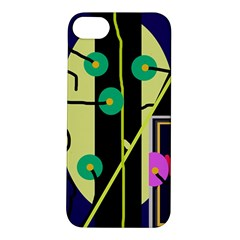 Crazy abstraction by Moma Apple iPhone 5S/ SE Hardshell Case