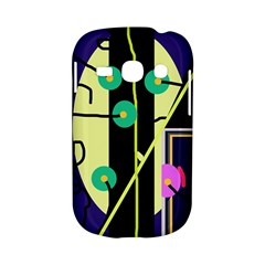 Crazy abstraction by Moma Samsung Galaxy S6810 Hardshell Case