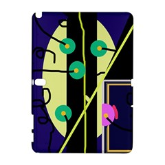 Crazy abstraction by Moma Samsung Galaxy Note 10.1 (P600) Hardshell Case