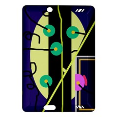 Crazy abstraction by Moma Amazon Kindle Fire HD (2013) Hardshell Case