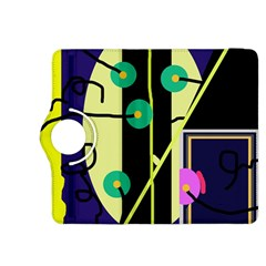 Crazy abstraction by Moma Kindle Fire HDX 8.9  Flip 360 Case