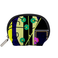 Crazy abstraction by Moma Accessory Pouches (Small)