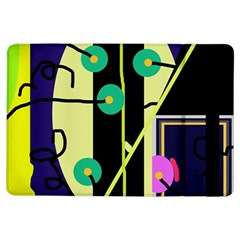 Crazy abstraction by Moma iPad Air Flip