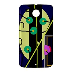 Crazy abstraction by Moma Nexus 6 Case (White)