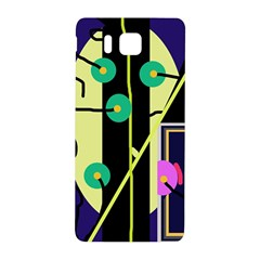 Crazy abstraction by Moma Samsung Galaxy Alpha Hardshell Back Case
