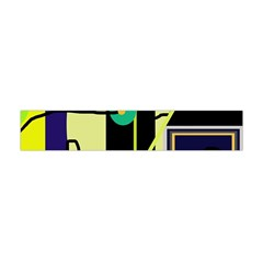 Crazy Abstraction By Moma Flano Scarf (mini)