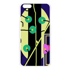 Crazy abstraction by Moma Apple Seamless iPhone 6 Plus/6S Plus Case (Transparent)