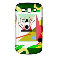 Green abstract artwork Samsung Galaxy S III Classic Hardshell Case (PC+Silicone)