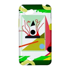 Green abstract artwork HTC Desire VC (T328D) Hardshell Case