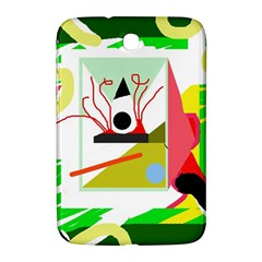 Green abstract artwork Samsung Galaxy Note 8.0 N5100 Hardshell Case