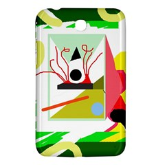 Green abstract artwork Samsung Galaxy Tab 3 (7 ) P3200 Hardshell Case