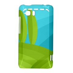 Green and blue landscape HTC Vivid / Raider 4G Hardshell Case
