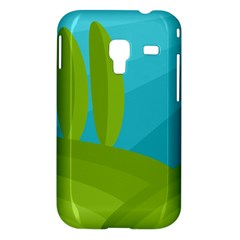 Green and blue landscape Samsung Galaxy Ace Plus S7500 Hardshell Case