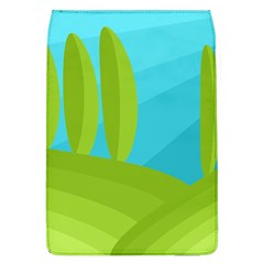 Green and blue landscape Flap Covers (L)