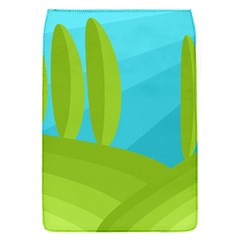 Green and blue landscape Flap Covers (S)