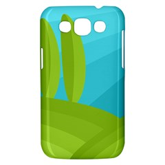 Green and blue landscape Samsung Galaxy Win I8550 Hardshell Case