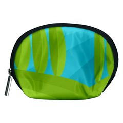 Green and blue landscape Accessory Pouches (Medium)