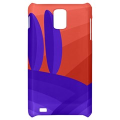 Purple and orange landscape Samsung Infuse 4G Hardshell Case