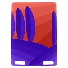 Purple and orange landscape Kindle Touch 3G