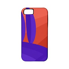 Purple and orange landscape Apple iPhone 5 Classic Hardshell Case (PC+Silicone)