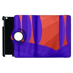 Purple and orange landscape Apple iPad 2 Flip 360 Case