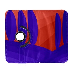 Purple and orange landscape Samsung Galaxy S  III Flip 360 Case
