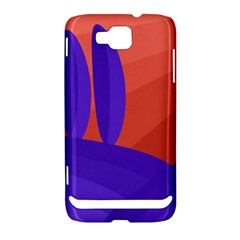 Purple and orange landscape Samsung Ativ S i8750 Hardshell Case