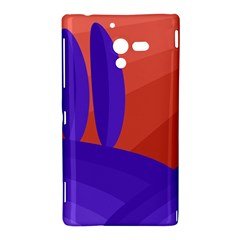 Purple and orange landscape Sony Xperia ZL (L35H)
