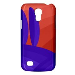 Purple and orange landscape Galaxy S4 Mini