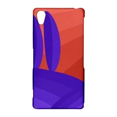 Purple and orange landscape Sony Xperia Z2