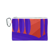 Purple and orange landscape Canvas Cosmetic Bag (S)