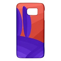 Purple and orange landscape Galaxy S6