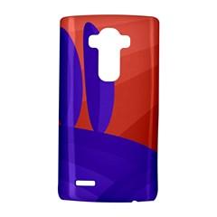 Purple and orange landscape LG G4 Hardshell Case
