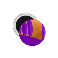 Orange and purple landscape 1.75  Magnets
