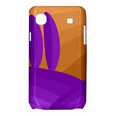 Orange and purple landscape Samsung Galaxy SL i9003 Hardshell Case