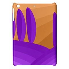 Orange and purple landscape Apple iPad Mini Hardshell Case