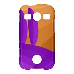 Orange and purple landscape Samsung Galaxy S7710 Xcover 2 Hardshell Case