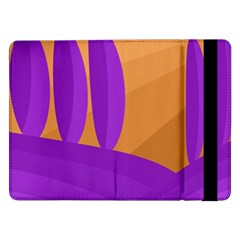 Orange and purple landscape Samsung Galaxy Tab Pro 12.2  Flip Case