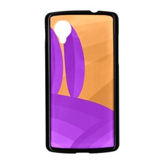 Orange and purple landscape Nexus 5 Case (Black)
