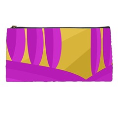Yellow and magenta landscape Pencil Cases