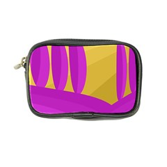 Yellow and magenta landscape Coin Purse