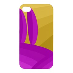 Yellow and magenta landscape Apple iPhone 4/4S Hardshell Case